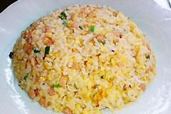 塩麹deパラパラチャーハン